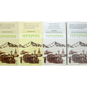 collection of Darjeeling White Teas