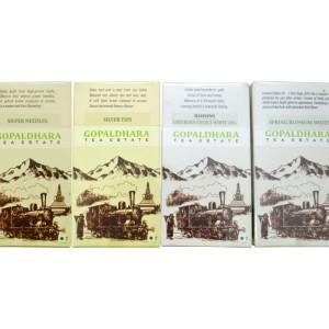 collection of Darjeeling White Teas