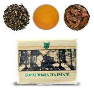 second flush tea gift box