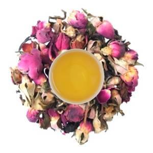 rose leaf tea